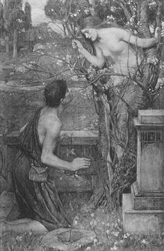 Phyllis and Demophoön :: John William Waterhouse :: johnwilliamwaterhouse.com