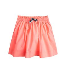 Girls' Back to School Looks / Pleated Cotton Skirt