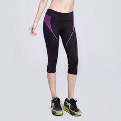 Women's Workout Capris Yoga Pants (Quick Dry, Breathable)