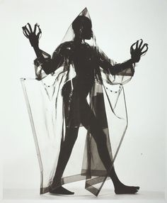 Woman in a Miyake Raincoat (A), New York | The Art Institute of Chicago
