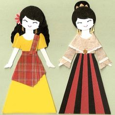 My mom and I made dolls that looked JUST like this in 1st grade for a cultural…