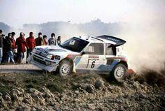 Peugeot 205 T16 Gr. B Rally Car
