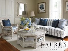 summer styled living room, wood above and below chair railing and wall color