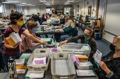 As Counting Begins a Flood of Mail Ballots Complicates Vote Tallies Primary Election, Us Election, Presidential Election, Cardiff City Fc, Military Intervention, Polling Place, November Election