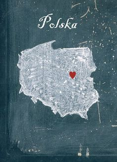 Customizable map of Poland, Home is where the heart is, Poland, Polska, home… Poland Travel, Poland Map, Italy Travel, Visit Poland, Pub, Photos Voyages, My Roots, Thinking Day, Polish Recipes