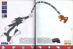 Tom and Jerry Sega Tom And Jerry, Covered Boxes, Box Art, Cover Art, Toms, Fle