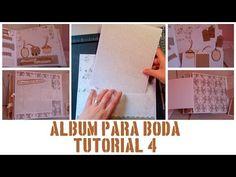 ÁLBUM DE BODA - PASO A PASO - TUTORIAL 4: PÁGINAS 7 Y 8 - YouTube