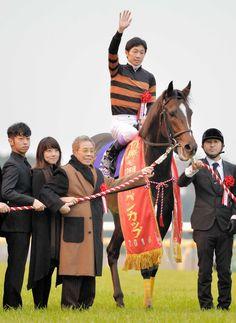 サブちゃん感激!キタサンブラックがJRA年度代表馬に デイリースポーツ #馬 #北島三郎