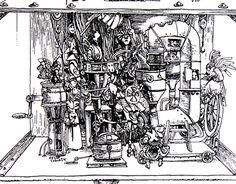 "Check out new work on my @Behance portfolio: ""Máquina de destilar""…"