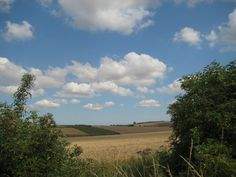 Big skies in the Yorkshire Wolds.