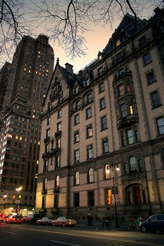 The Dakota looking southwest across Central Park West - front of the building is on 72nd Street | by cw1872, via Flickr