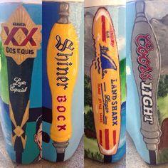 dos equis shiner bock land shark lager coors light beer cooler corner Diy Cooler, Coolest Cooler, Beer Cooler, Sorority Canvas, Sorority Paddles, Sorority Crafts, Sorority Recruitment, Fraternity Coolers, Frat Coolers