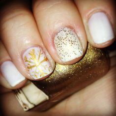 #ChristmasNails #Winter