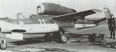 "jcaviation: ""Heinkel He-162 Salamender , jagdgeschwader-1 in 1945 . pilot : Emil…"
