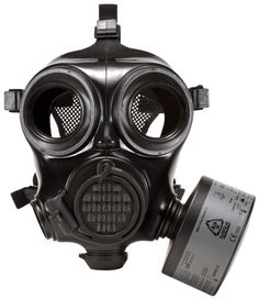 The full face military gas mask respirator is intended for CBRN defense while keeping tactical applications in mind. Gas Mask Art, Masks Art, Gas Masks, Military Special Forces, Iron Sights, Protective Mask, Night Vision, Binoculars, Just In Case