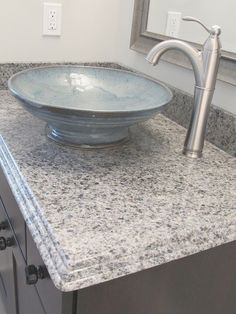 Handmade pottery sink, luxe home furnishings, luxe homes and design