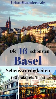 In this article I describe a nice tour along the Basel sights and give you practical Basel tips on your trip to Switzerland. Europe Destinations, Basel, Visit Switzerland, Reisen In Europa, One Day Trip, Swiss Alps, Mexico Travel, Wonderful Places, Places To Visit