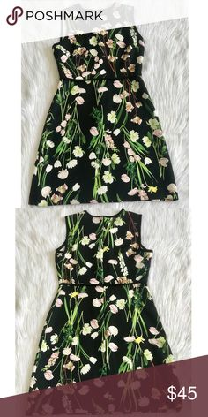 b70ec45b04 Victoria Beckham for Target Dress Black English Floral Stretch Tea Dress.  Length bust waist Victoria Beckham for Target Dresses