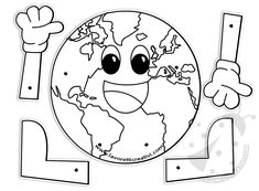 Earth Day Activities, Activities For Kids, Free Worksheets For Kids, Transitional Kindergarten, Earth Day Crafts, Train Up A Child, Preschool Projects, Sistema Solar, Earth Science