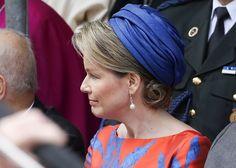 Queen Mathilde, King Philippe and Princess Elisabeth in Tongeren
