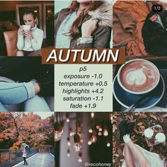 VSCO filter you can use Instagram Theme Vsco, Cl Instagram, Autumn Instagram Feed, Photography Filters, Photography Editing, Fall Photography, Babies Photography, Photography Styles, Photography Lessons
