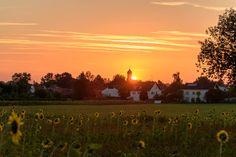 Augsburg - Bergheim Sonnenaufgang #Augsburg