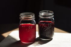 Homemade Raspberry/Blackberry Juice Concentrate from the Girls guide to Guns and butter...Great Blog