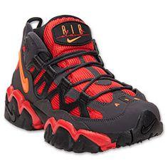 Men\u0027s Nike Air Slant Mid Retro Training Shoes | FinishLine.com | Dark  Charcoal/
