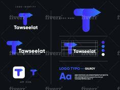 One marketplace, millions of professional services. Branding Design, Logo Design, Gradient Logo, Brand Style Guide, Social Media Design, Modern Logo, Fashion Branding, App Icon, Brand Identity