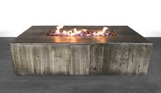 Century Modern Outdoor Fire Pit for Outdoor Home Garden Backyard Fireplace by (Multicolor) - Good quality and fast shipping. Outdoor Fire Table, Outdoor Propane Fire Pit, Gas Fire Pit Table, Outdoor Pergola, Copper Fire Pit, Natural Gas Fire Pit, Concrete Fire Pits, Backyard Fireplace, Outdoor Fireplaces