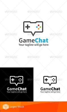 Game Logo Design, Logo Design Template, Logo Templates, Logo Branding, Branding Design, Video Game Logos, 100 Free Fonts, Logo Shapes, Portfolio Logo
