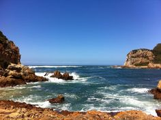 Knysna heads. The memories.