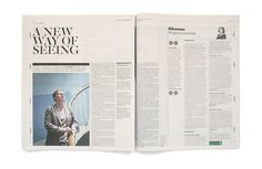 Matt Willey- The Independent redesign spread. Fantastic!