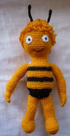 Méhecske horgolt