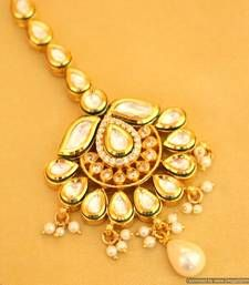 Buy Beautiful Kundan Maang Tikka Online
