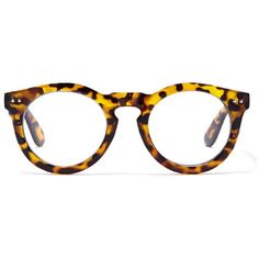 Forever 21 Round Tortoiseshell Readers (370 PHP) ❤ liked on Polyvore featuring accessories, eyewear, eyeglasses, round eyewear, tortoise shell glasses, rounded glasses, tortoiseshell eyeglasses and lightweight eyeglasses