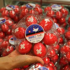 August 1 Swiss National Day - Swiss Eggs