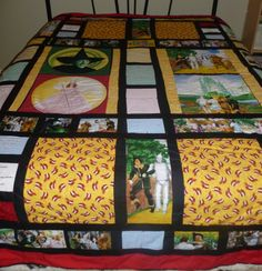 Wizard of Oz full size quilt.
