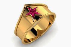Paul Michael - Wonder Woman Tiara (Ring/Anel)