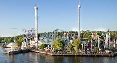 Grona Lund, Stockholm Stockholm Travel, Lund, Amusement Park, Cn Tower, Where To Go, Finland, Denmark, Norway, Sweden