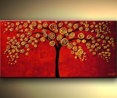 painting tree - Buscar con Google