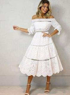 Whats the price and size? where is coming from? how long will take Thanks Stylish Dresses, Casual Dresses, Girls Dresses, Prom Dresses, Floral Dresses, Style Outfits, Dress Outfits, Fashion Dresses, Fall Formal Dresses