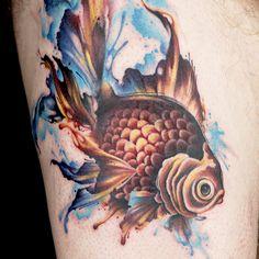 Ryan Ashley Malarkey watercolor - Ink Master season 8 Turn the tables tattoo marathon