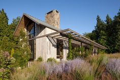 Photo 3 of 15 in Country Garden House by Olson Kundig - Dwell Farmhouse Homes, Modern Farmhouse, Stairway To Heaven, Portland House, Portland Oregon, Oregon Usa, Barn House Design, Timber House, Wooden House