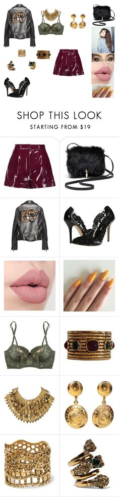 """&"" by ohbabyimrachel ❤ liked on Polyvore featuring Valentino, Elizabeth and James, Gucci, Oscar de la Renta, Coleman, Elle Macpherson Intimates, Chanel, H&M, Aurélie Bidermann and Waterford"