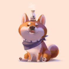5,067 отметок «Нравится», 53 комментариев — Lynn Chen (@lynnchen66) в Instagram: «Sake addiction ——- #dogsofinstagram #shibainu #shiba #dog #dogsofinstagram #sake #drink #alcholic…»