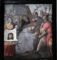 Veil of Veronica, unknown artist, c. Veil Of Veronica, Jesus Face, Figure Painting, Contemporary Artists, Art History, Fine Art, Jerusalem, Portrait, Ikon