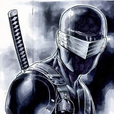 Snake-Eyes Sketch (2014) - Jim Cheung