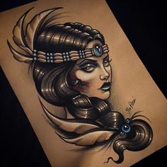 ❤️ bei Interesse bitte Mail an tattoo@ma-reeni.com !!! #tattoo #tttism #ink #wannado #germantattooers #neotrad #neotradsub #neotraditional #drawing #skinartmag #tattooart #tattooartist #sketch #lady