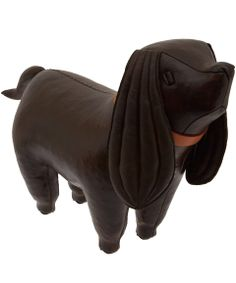Omersa Brown Leather King Charles Spaniel | Home Decor by Omersa | Liberty.co.uk
